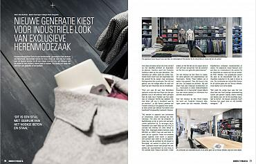 Artikel over onze winkel in vakblad