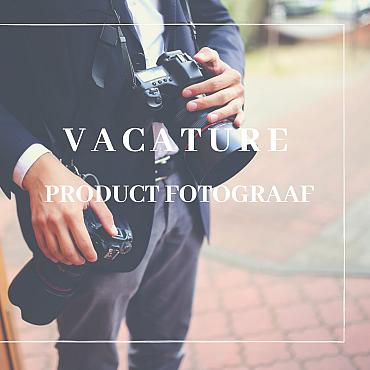 Vacature Product fotograaf